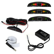 Electromagnetic Auto Reversing Car Parking Radar Sensor+Led Buzzer Sensor Black