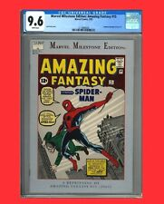 New ListingAmazing Fantasy #15 Cgc 9.6 (Other Rare Cgc Graded Comic Listings In-Progress)