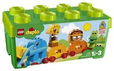 LEGO Duplo 10863 Meine erste Steinebox Tiere Lern Spielzeug für Kinder ab 1,5