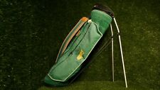Masters Edition Ping Hoofer golf bag. 4-way felt top. 5-pocket. green canvas.
