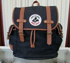 Disney Loungefly Mickey Mouse 1928 Canvas Backpack Denim Bag NWT