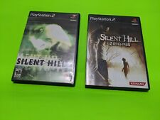Silent Hill Origins + Silent Hill 2 Game Lot PlayStation 2 PS2 Tested Horror