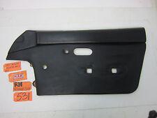 91 MIATA MX-5 DOOR PANEL 90 91 92 93 94 95 96 97 RIGHT PASSENGER BLACK MX5 RF R