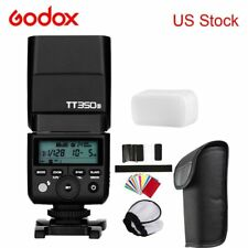 Godox TT350S TTL Camera Flash D Type Bracket for Sony A6000 Mirrorless Camera