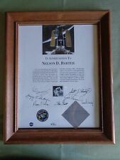 Space Shuttle Discovery Mach 25 Tape Flown in Space frames Certificate