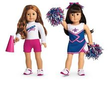 NEW American Girl Doll Cheer Gear 2-in-1 Cheerleading Set uniform clothes NIB