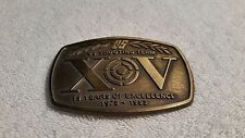 VIintage US Shooting Team Belt Buckle 15 Year Buckles 1978 - 1993 FREE SHIPPING