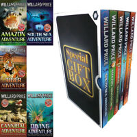 Willard Price Collection Adventure Series 5 Books Gift Wrapped Slipcase Cannibal