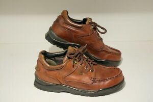 Clarks Gore-Tex GTX Brown Leather Walking Shoes - Size 8.5 / 9 (See Description)