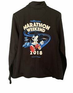 Run Disney 2018  Marathon Weekend Race Jacket Size Large Champion
