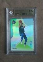 2018-19 Panini Status Luka Doncic Green RC Rookie Card #122 BGS 9.5 Gem Mint