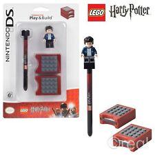 NUOVO LEGO HARRY POTTER Play e costruire Nintendo DS STYLUS & gioco casi Ufficiale