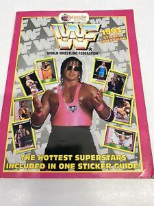 Merlin WWF 1993 Sticker Album, Wrestling.