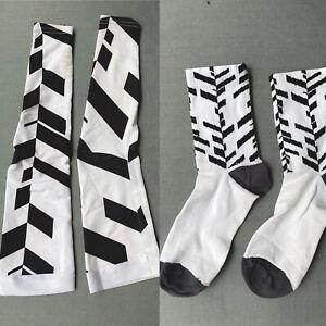 rapha arm Screens + Socks Lightweight Data Print  UV Protection Small S & Medium