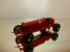 RIO MODELS ALFA ROMEO P3 1932 6 WHEELS - F1 RED 1:43 - GOOD CONDITION