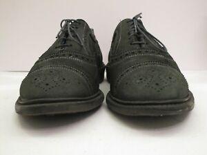 Men's Allen Edmonds Strandmok Dark Blue Cap Toe Oxfords Size 12  D