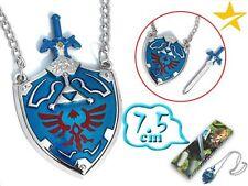 Colgante espada maestra y escudo Legend of Zelda Link