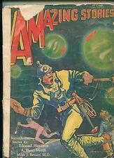 AMAZING STORIES (July 1930) / Science Fiction / Edmond Hamilton / Miles Breuer
