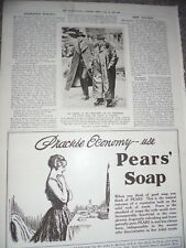 Printed photo Herbert Asquith at Ladybank 1916 ref Al