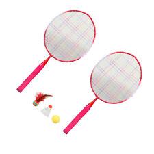 1 Set Badmintonschläger Kinder Badminton Trainingsgerät Outdoor Sport Spielzeug