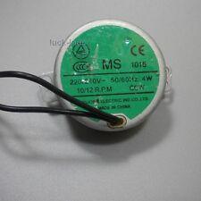 AC 220 230 240V VAC motor 10 R.P.M 50/60Hz CCW , MS 1015 , 4W ,New Old Stock