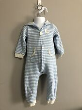 CARTER'S Boy striped Sleepwear with hoodie and ears size 18 months