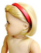 """Red Headband made for 18"""" American Girl Doll Clothes Accessories"""