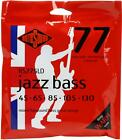 12-Pack Rotosound RS775LD Jazz 77 Monel Flatwound Long Scale 5-... Value Bundl for sale