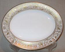"""Wedgwood Florentine Gold 13 1/2"""" Oval Serving Platter"""