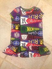 Girl Ralph Lauren Cotton Dress Size 2/2T NEW RRP £60