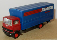 HERPA HO 1/87 CAMION MB MERCEDES LP 813 ROUGE/BLEU BRÜSSEL SPEDITION