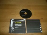 The Enemy-We'll live and die in these towns.cd promo