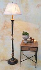 Stehlampe Lampe Stehleuchte Stoffschirm klassisch antik Look edel PQ014-b