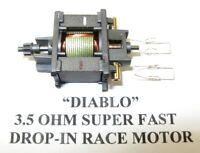 """TYCO SLOT CAR - 3.5 OHM """"DIABLO"""" PRO DROP-IN RACE MOTOR,WICKED FAST! /Tomy, BSRT"""
