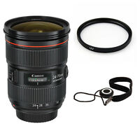 Canon EF 24-70mm f/2.8L II USM Zoom Lens Bundle