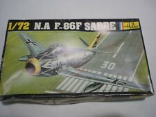 Heller un made plastic kit of a N.F F-86F SABRE,  boxed