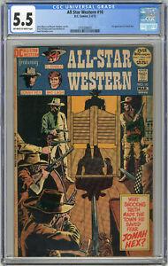 1972 All Star Western 10 CGC 5.5 1st Jonah Hex