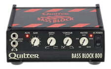 QUILTER LABS BASS BLOCK 800 - BASS AMP HEAD MADE IN THE USA. UNBELIEVABLE TONE