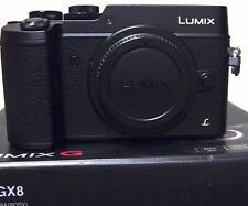 Panasonic LUMIX DMC-GX8 20.3MP camera - Body Only Mint with Extras