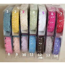 Decorative Lace Roll Washi Sticky Paper Masking Adhesive Tape Craft DIY Gift NEW
