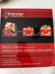 Indoor Christmas Lights - Santa's train