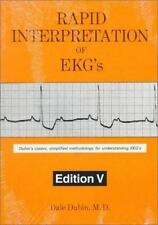 Rapid Interpretation of EKG's by Dale Dubin (1996, Paperback)