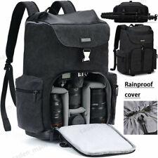 CADeN M8 Large Canvas Camera Backpack Bag Case For Canon Nikon Sony SLR DSLR