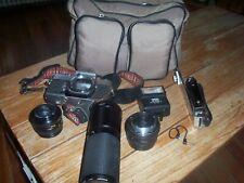 Minolta SRT 201 Camera Bundle