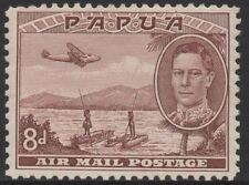 Mint Hinged Papua New Guinean Air Mail Stamps