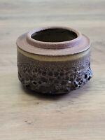 Edna Arnow mid-century Lava Glaze bowl