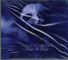 ACES HIGH - FORGIVE & FORGET (PLRCD012) CLASSIC SWEDISH HARD ROCK CD