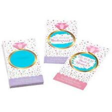 "Amscan ""will You Be My Bridesmaid "" Scratch off Cards 1"
