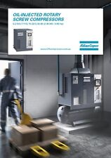 Atlas Copco G7FFTM - 10HP  7.5kW ROTARY SCREW AIR COMPRESSOR TANK DRYER