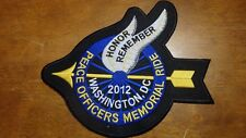 POLICE OFFICER PEACE OFFICER MEMORIAL RIDE  WASHINGTON DC PATCH BX W 9